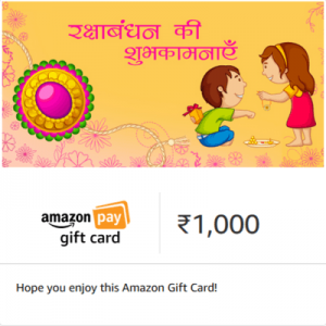 amazon rakhi offers