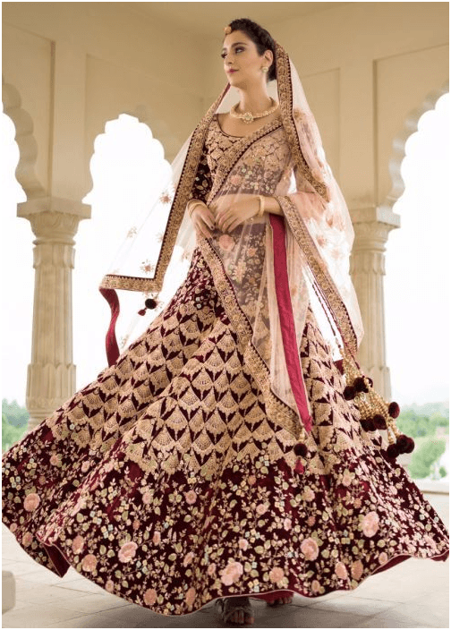 Latest Lehenga Designs for the Brides of 2019