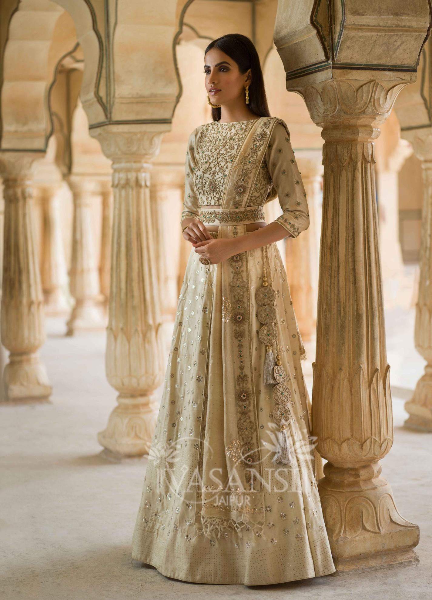 Designer Lehenga for Valentine Day