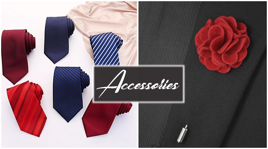 Suiting Accessories for Valentine Day