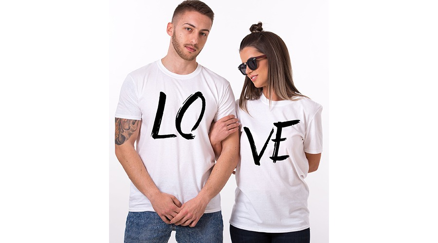 Paired shirts For Valentine Day
