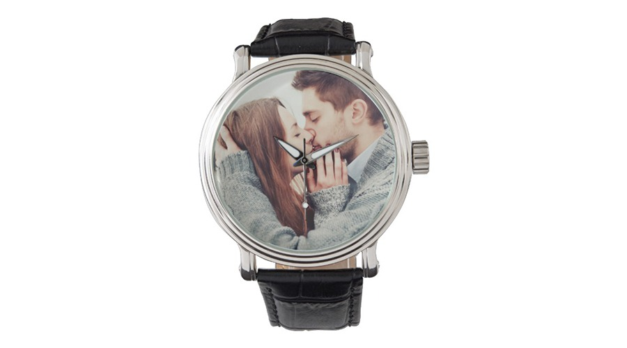 Wristwatch for Valentine Day