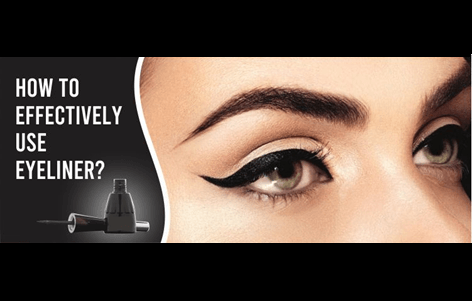 How To Effectively Use Eyeliner?