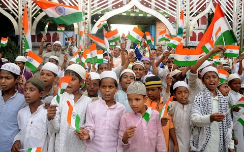 Independence Day India Muslim Kids