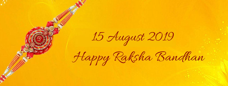 Raksha Bandhan 2019 Date and Day