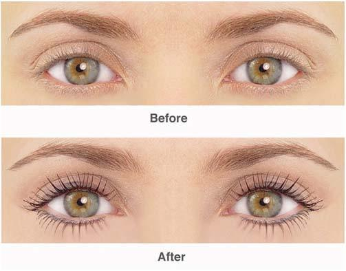 Thicken The Lashes: