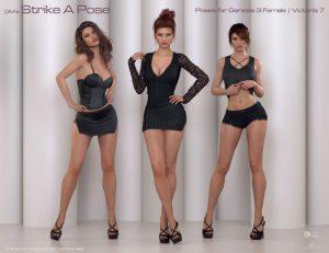 Womens Strike a pose Of Modes - WBO