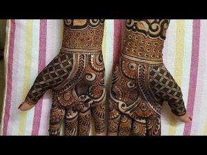 bridal mehndi design - WBO