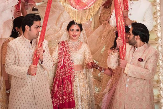 Inside Isha Ambani, Anand Piramal's wedding pictures and video