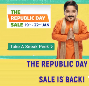 Flipkart 26 Jan Republic Day Sale 2020