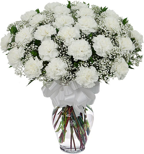 Carnations Flowers For Sympathy