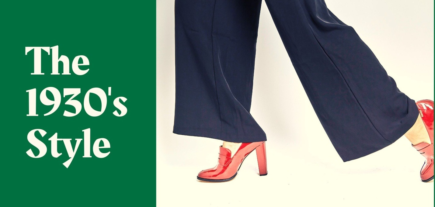 The 1930s - Wide Leg Pants