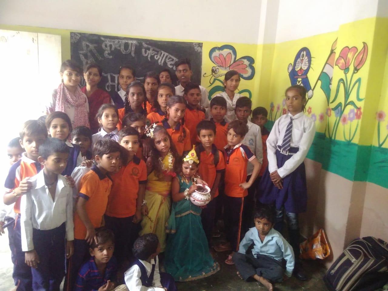 Schools Kids celebrate Krishna Janmashtami Utsav