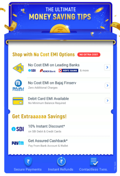 Flipkart Big Billion Day Bank Offers 2020