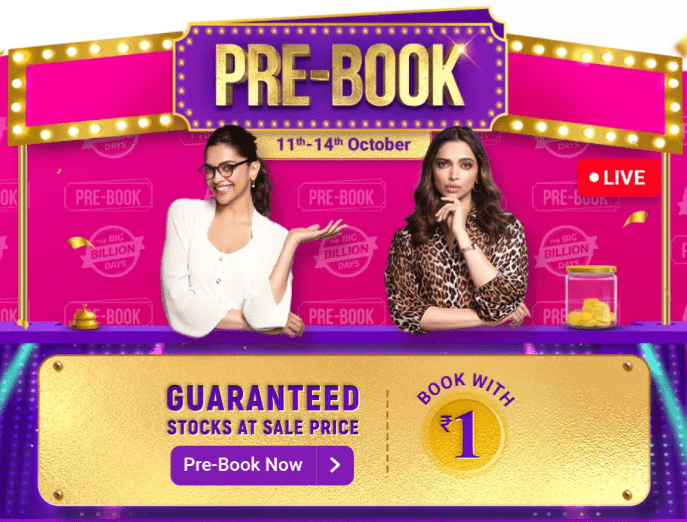 Flipkart Pre Book Sale Discount Offers 2020