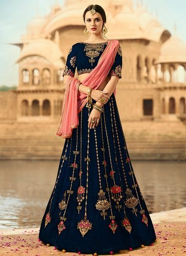 sabyasachi-designer-blue-lehenga-collection