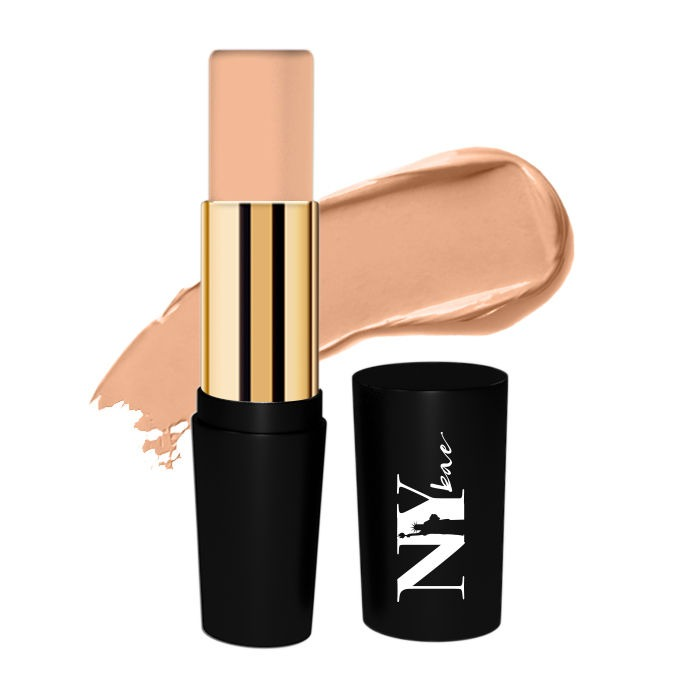 NY Bae Foundation Concealer Contour Color Corrector Stick, For Fair Skin, Golden - Grander than Central 3