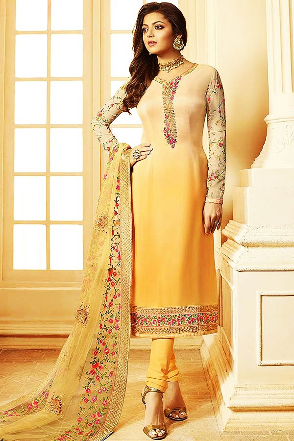 Look Slim in Salwar Kameez
