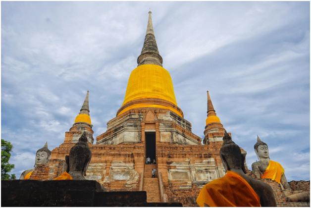 Visit Wat Chai Mongkon Bangkok Pattaya Tour Package