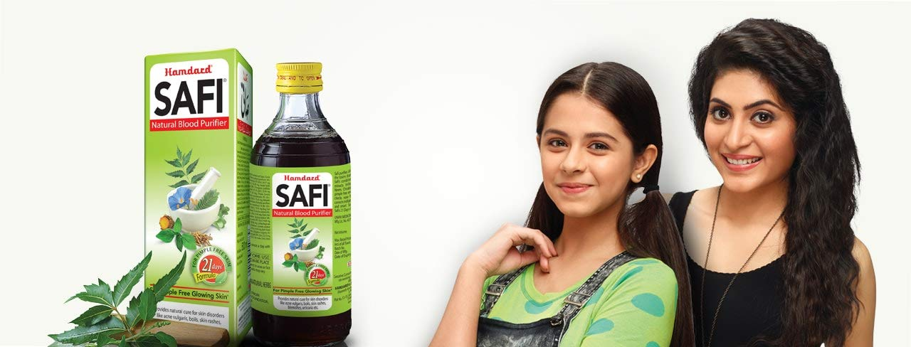 Hamdard Safi Review : Safi for Glowing Skin, Safi for Pimples Free Skin