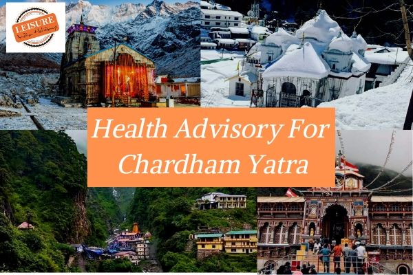 Health Advisory For Chardham Yatra by Helicopter