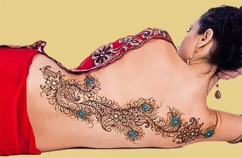 Full Body Henna Design 2020