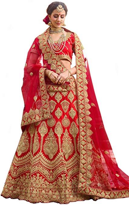 Red Bridal Lehenga Design 2020