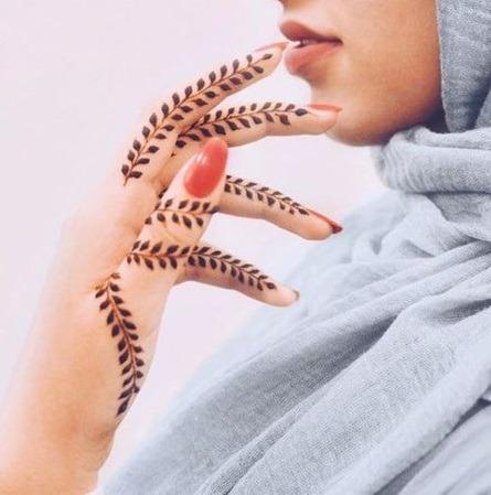 mehndi designs for finger 2020