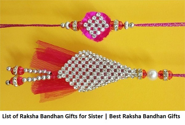 List of Raksha Bandhan gifts for sister | Best Raksha Bandhan Gifts