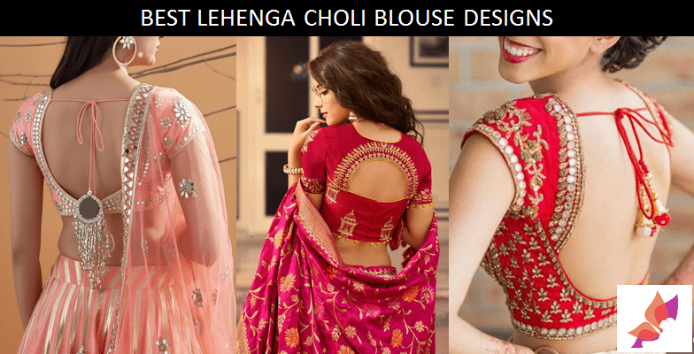 Best Lehenga Choli Blouse Designs 2020