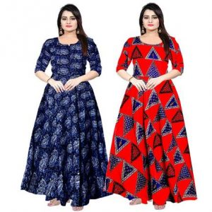 Long Dress, Gown Below 500 Rs, 300 Rs, 200 Rs.