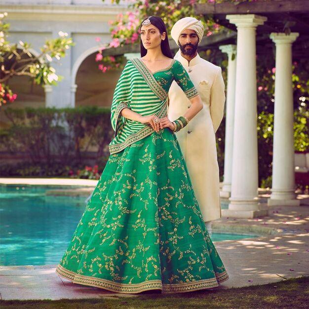 Sabhyasachi Lehria festive season dresses