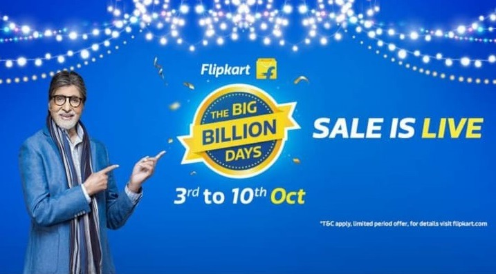 Flipkar Big Billion Days Sale