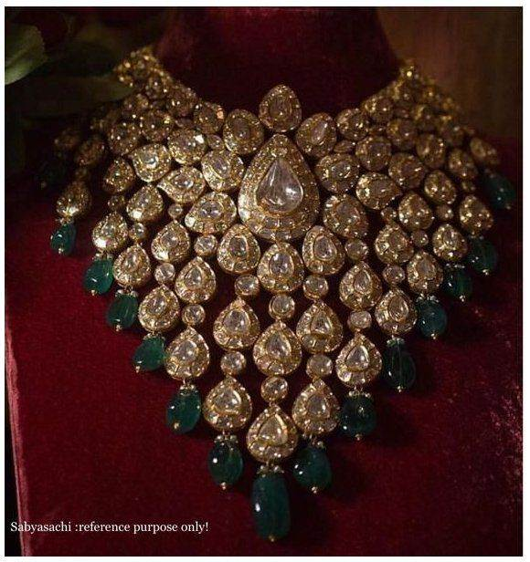 sabyasachi jewellery for wedding