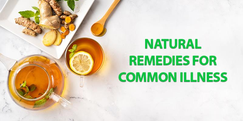 Natural Remedies for Common Illness – Simple Home Remedies!