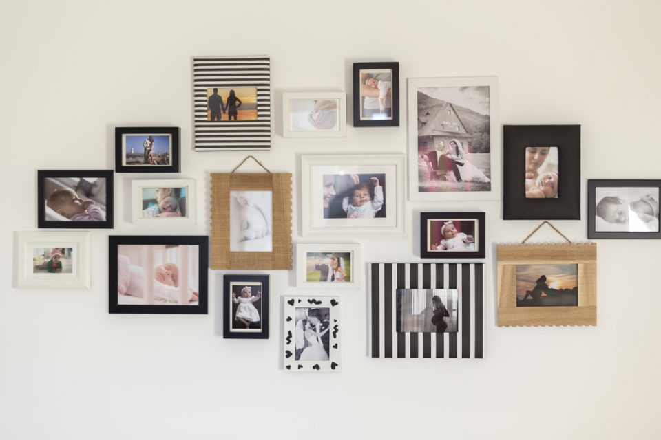 Ways to Display Your Family Photos in Your Home