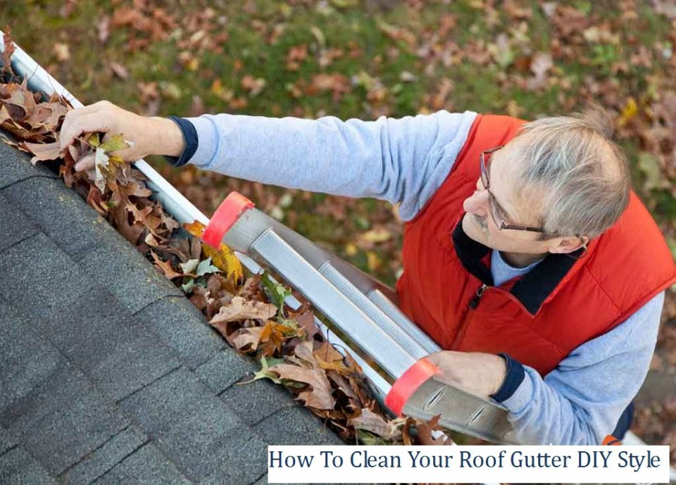 How To Clean Your Roof Gutter DIY Style