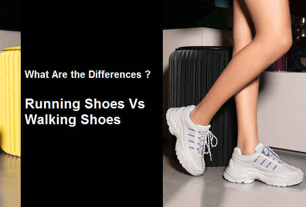 Running Shoes Vs Walking Shoes: What Are the Differences