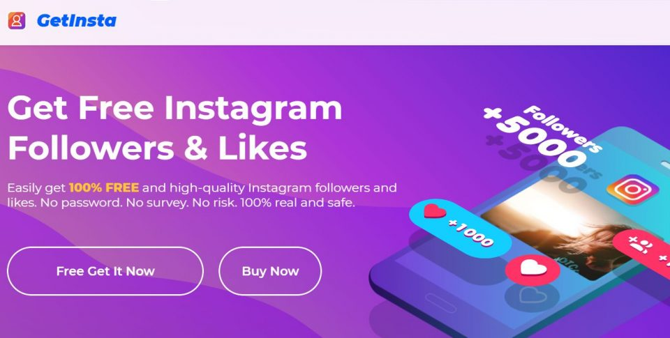 Why using the GetInsta app for growing Instagram likes or followers is safe?
