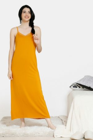 Yellow Night Gown Under 1200 Rupees