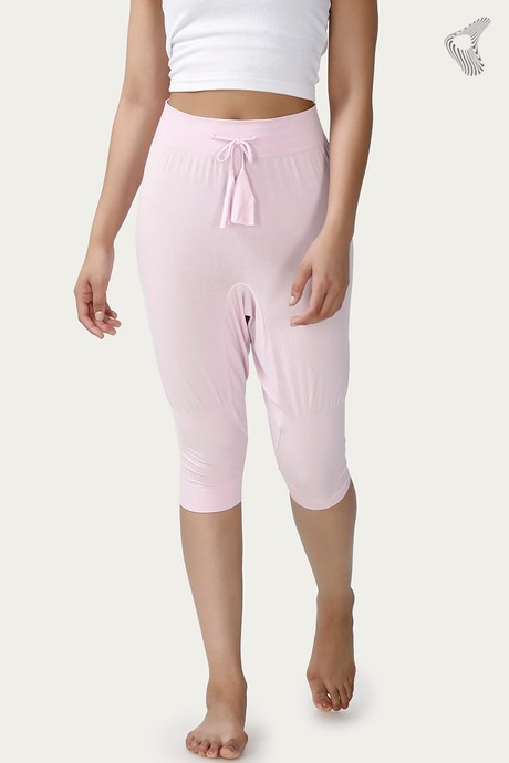 Zelocity Easy Movement Cropped Pants - Lilac
