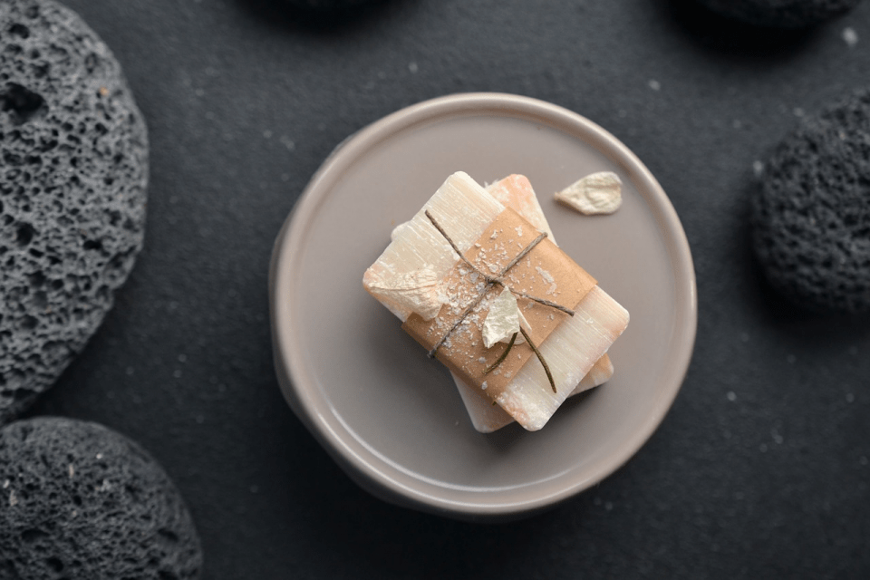 natural soap for a refreshing bath