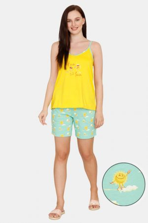 yellow Blue Night Shorts800
