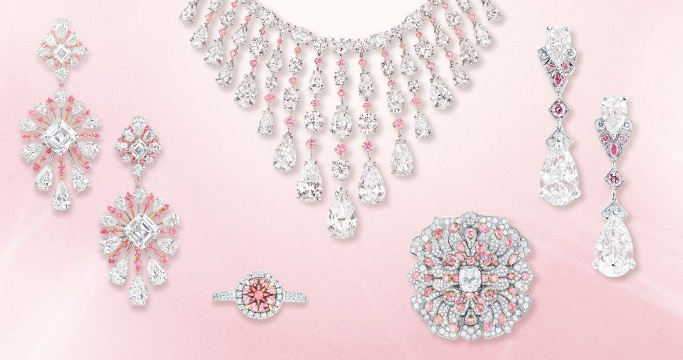 Pink Diamond Jewelry, Elegant And Classy