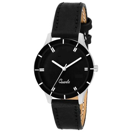 Analog Black Dial Watch for Women