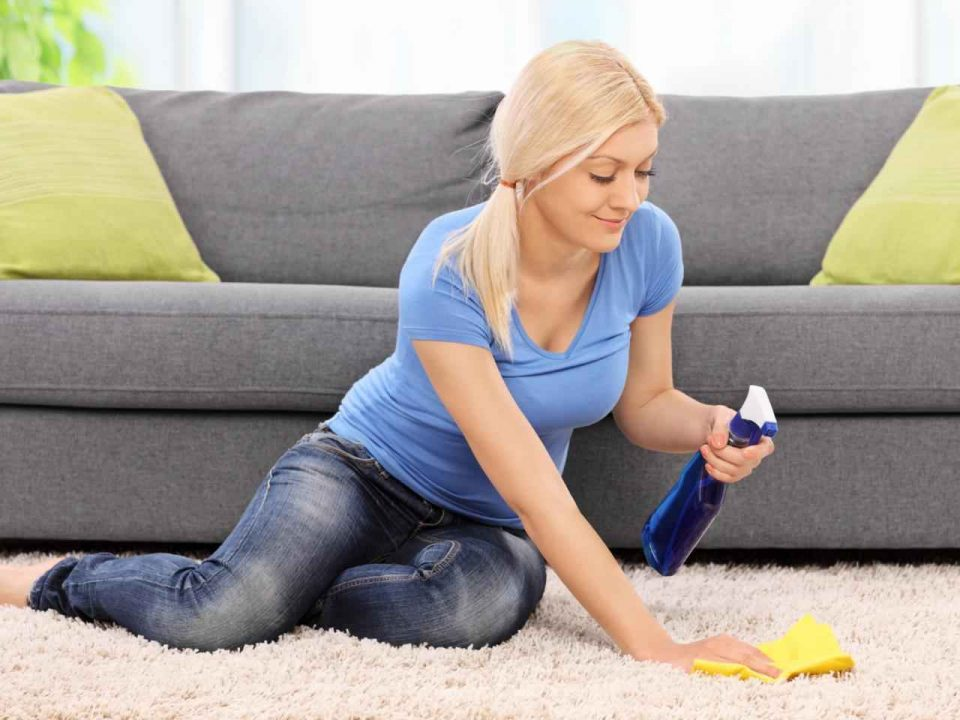 Should you professionally clean your own carpets yourself or get a company to do it?