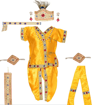 Krishna Dress Kurta Dhoti