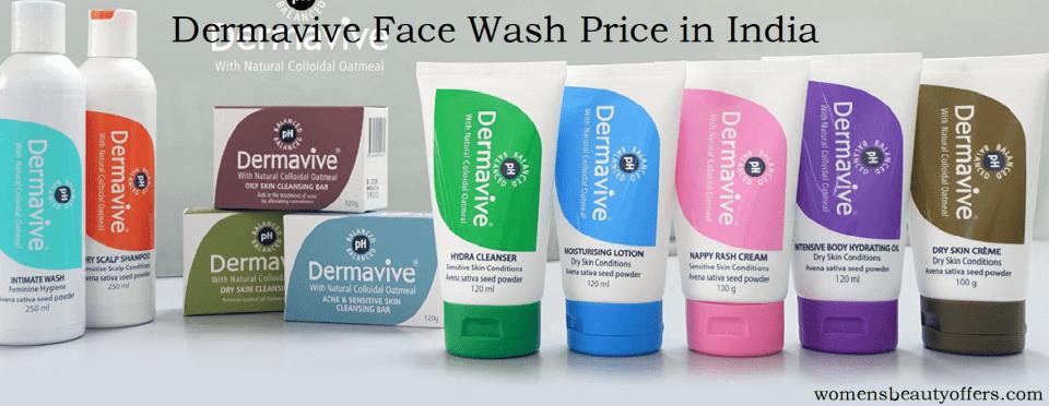 Dermavive Face Wash Price in India