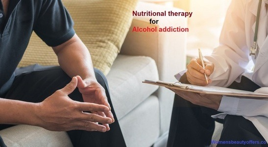 Nutritional therapy for alcohol addiction