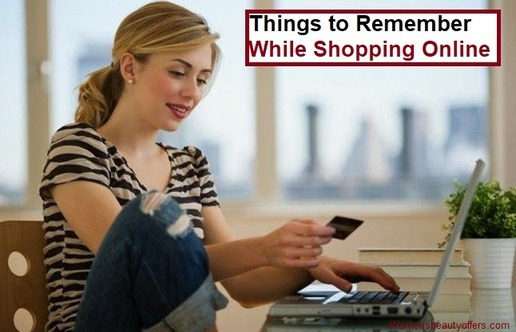 Things to Remember While Shopping Online